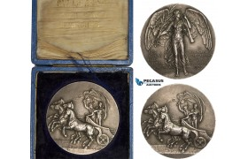 AA882, Great Britain, Silvered Bronze Medal 1908 (Ø50.7mm, 59.5g) by Mackennal for Vaughton, London Olympic Games