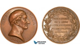 AA982, Sweden, Bronze Medal 1835 (Ø49mm, 66.1g) by Lundgren, Swedish Medical Society
