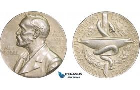 AB208, Sweden, Silver Medal 1978 (Ø26.5mm, 12.8g) Alfred Nobel, Swedish Medical Society