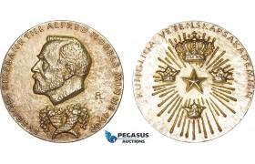 AB594, Sweden, Silver Committee Medal 1982 (Ø26mm, 11.9g) Alfred Nobel, Economic Sciences