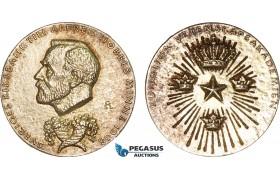 AB593, Sweden, Silver Committee Medal 1980 (Ø26mm, 11.9g) Alfred Nobel, Economic Sciences