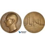 AB934, France & Egypt, Bronze Medal 1930 (Ø68mm, 147g) by Maillard, Cairo Exhibition, Georges Philippar