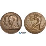 AB959, Sweden, Bronze Medal 1939 (Ø56mm, 67g) by Lindberg, Alfred Nobel, Nitroglycerin