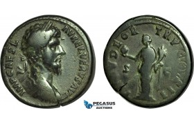 AC004, Roman Empire, Lucius Verus (AD 161-169) Æ Sestertius (21.91g) Rome, AD 161, Providentia