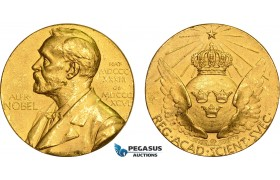 AC134, Sweden, Gold (E10=1979) (Ø26.8mm, 20.08g) Alfred Nobel, Committee for Physics