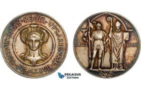 AC182, Sweden, Silver Medal 1926 by Lindberg, Uppsala Science Academy, Minerva