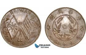 AC617, China, Honan, 50 Cash ND (1920) AU-UNC (Few scratches)