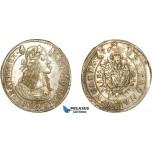 AD072, Hungary, Leopold, 15 Krajczar 1665-KB, Kremnitz, Silver, AU