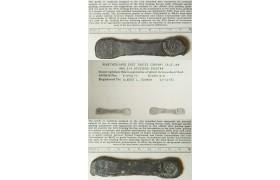 C02, Ceylon Dutch East India Company , AE 4 3/4 Stuiver, Bonk Bar ND (1785) COA from ANACS