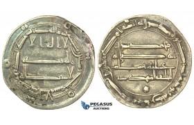 J31, Abbasid Caliphate, Al-Mahdi (775-785 AD) Dirham, Medinat al-Salam, Silver (2.94g)