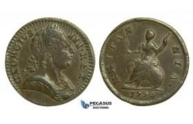 K46, Great Britain, George III, Farthing 1774, GVF
