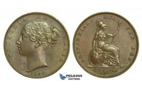K56, Great Britain, Victoria, Farthing 1840, GEF