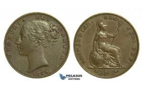 K64, Great Britain, Victoria, Farthing 1859, GVF