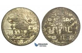 R25, Ottoman Empire, Selim III, Yuzluk AH1203/7, Islambul, Silver, Good Details!