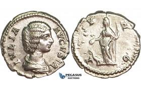 R398, Roman Empire, Julia Domna, Augusta (194-217 AD) AR Denarius (2.91g) Rome, IVNO