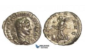 R399, Roman Empire, Elagabal (218-222 AD) AR Denarius (3.58g) Rome, Victory