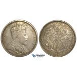 S76, Straits Settlements, Edward VII, Dollar 1903-B, Bombay (Raised B) Good luster & Toning!