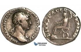Y74, Roman Empire, Trajan (98-117 AD) AR Denarius (3.12g) Rome