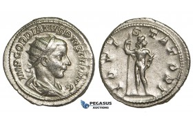Y75, Roman Empire, Gordian III (238-244 AD) AR Antoninianus (4.63g) Rome, 241-243 AD, Jupiter