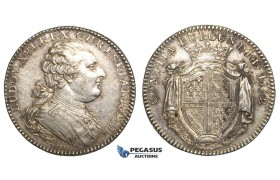 Y77, France, Louis XVI, Jeton 1782, Burgundy, Silver, Ø 31mm, 10.48g