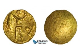 ZA91, Eastern Celts, Boier, 1/24 Stater, Gold (0.34g) XF-UNC