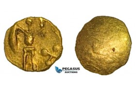 ZA92, Eastern Celts, Boier, 1/24 Stater, Gold (0.28g) XF-UNC