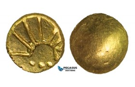 ZA94, Eastern Celts, Boier, 1/8 Stater, Gold (0.90g) XF-UNC