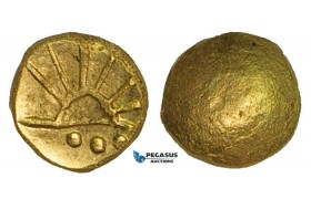 ZA95, Eastern Celts, Boier, 1/8 Stater, Gold (1.15g) XF-UNC