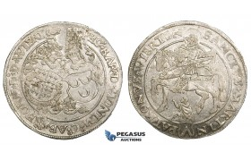ZE32, Netherlands, Hoorne, Philipp of Montmorency, Taler (Bettlertaler) ND, Silver (28.03g) Lustrous XF