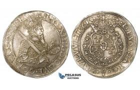 ZG13, Sweden, Erik XIV, Daler (Taler) 1561, Stockholm, Silver (28.78g) SM 5, VF-EF with Fine Toning!