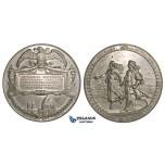 ZJ09, United States, Chicago Columbus Exhibition Tin Medal 1893 (Ø69mm, 93g) aUNC