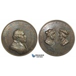 ZJ88, Germany, Silver Medal 1817 (Ø39mm, 18.16g) by Loos, Martin Luther, Rare!