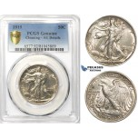 ZK48, United States, Walking Libery Half Dollar (50C) 1919, Philadelphia, Silver, PCGS AU Det. (Lustrous coin)
