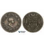 ZL83, Germany & Austria, Schwarzenberg, Marshall Karl Philipp, Cast Iron Medal 1815 (Ø28mm, 8.98g) by Loos, Napoleon libaration