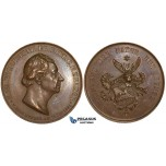 ZL84, Germany, Bronze Medal 1831 (Ø36mm, 25.30g)by Angelica Facius, Carl Friedrich Zelter