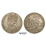 ZM776, Ethiopia, Haile Selasie, Silver Medal 1958 (Ø40mm, 28g)  25 Years of Reign