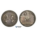 ZM787, Sweden & Germany, Gustav III, Silver Medal ND (Ø34mm, 18.18g) by Fehrman, Louisa Ulrika