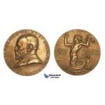 ZM790, Sweden, Bronze Medal 1928 (Ø56.5mm, 73.6g) by Lindberg, Gustav Ekman, Mermaid
