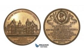 AA195, Great Britain, Victoria, Bronze Medal 1858 (Ø44.5mm, 52.3g) Aston Hall, Birmingham