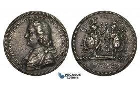 AA205, Sweden & Germany, Iron Medal 1807 (Ø32mm, 9.5g) by Enhoring, taking of Bremen – Verden & Prague