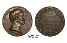 AA207, Sweden, Bronze Medal 1835 (Ø49mm, 64.8g) by Lundgren, Swedish Medical Society