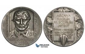AA226, Sweden, Silver Medal 1920 (Ø31mm, 14.8g) Science Academy, Paleontology
