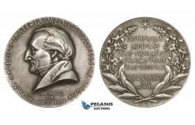 AA230, Sweden, Silver Medal 1930 (Ø31mm, 14.8g) Adam Afzelius, Medicine, Uppsala Academy