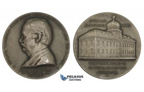 AA232, Sweden, Silver Medal 1943 (Ø31mm, 14.9g) Tycho Tullberg, Science Academy, Zoology