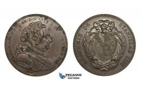 AA331, Poland & France, Bronze Medal (Ø33mm, 15.7g) by Borrel, Nancy Stanislas Academy