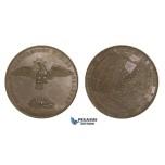 AA736, Germany, Bronze Medal 1842 (Ø44mm, 42.2g) by Loos, Hamburg Great Fire, Phoenix