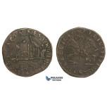 AA741, Netherlands, Bronze Token 1603 (Ø30.5mm, 4.72g) Antwerp, Restoration of Finances under Ambroise Spinola