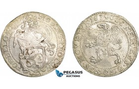 AD633, Netherlands, Westfriesland, Lion Daalder 1634, Silver (27.05g) VF-XF