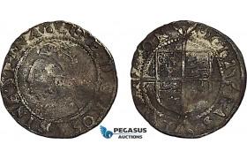 AF020, Great Britain, Elisabeth I, Hammered Penny ND (1560/1) London, 2nd issue (0.48g) S-2558, F-VF