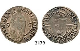 Lot: 2179. Sweden, Sigismund, 1592-1599, 1 Öre 1595, Stockholm, Silver